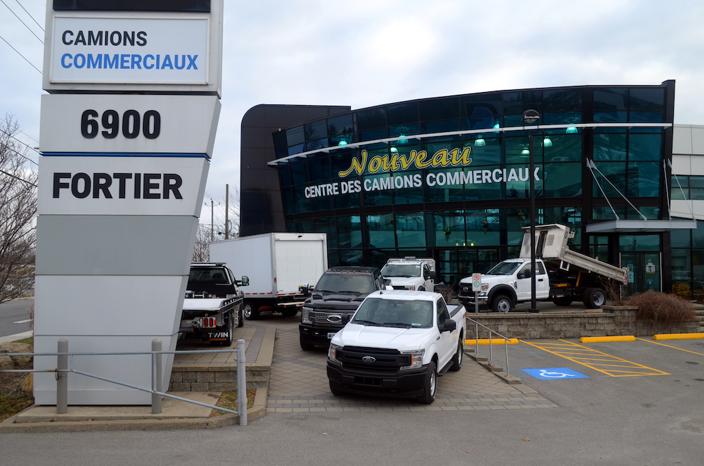 Fortier Centre de véhicules commerciaux